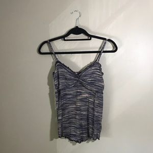 Free People Marl Twisted Cami Tank